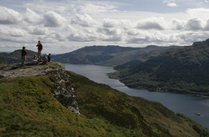 Walking in Cowal self catering holiday cottages